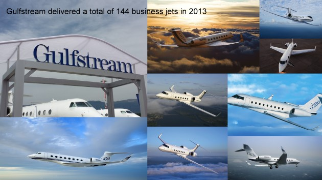2013 was Gulfstreams second best year
