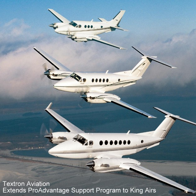 Textreon Extends ProAdvantage Program to King Airs