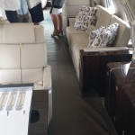 NBAA Dallas Regional Forum 2014 Gulfsream G650 interior