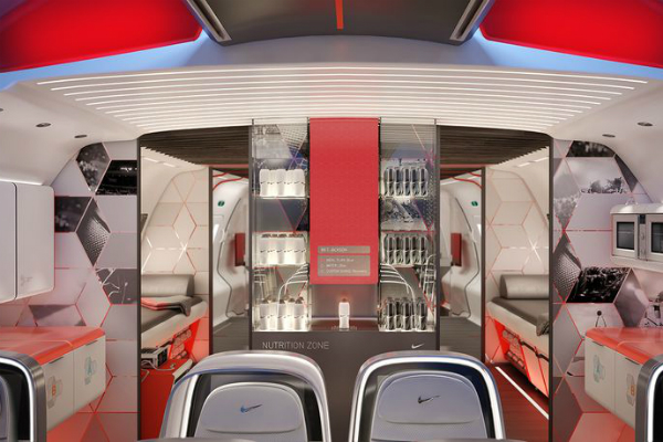 Nike designs private jets