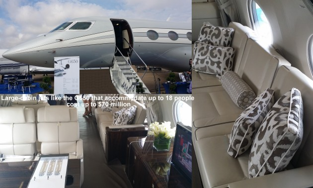 Private jet sales flying high with large cabin jets like the G650
