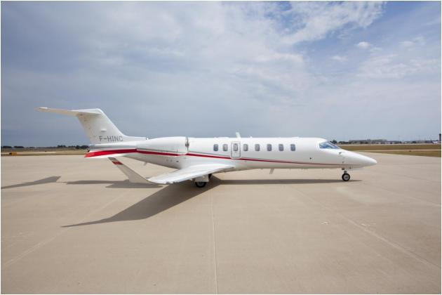 Bombardier Learjet Delivers First EASA-registered Learjet 75 Aircraft