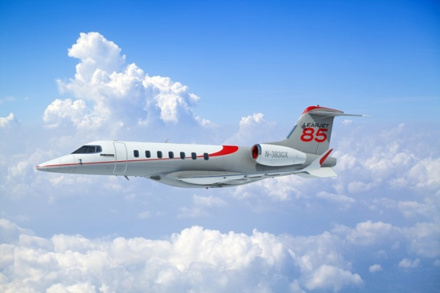 Bombardier to send LearJet 85 to NBAA 2014