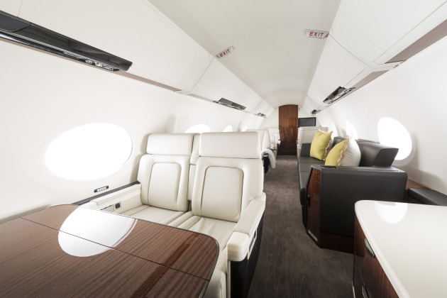 G500 and G600 interior