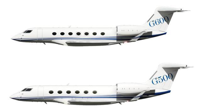 Gulfstream G500 and G600