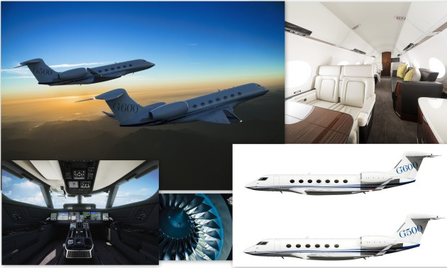 All new Gulfstream G500 and G600