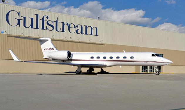Tesco Gulfstream G550 for Sale Exterior photo