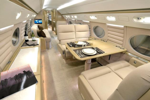 Tesco Gulfstream G550 for Sale Interior 2