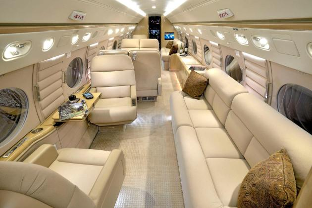 Take A Look At The 48 Million Gulfstream G550 Private Jet