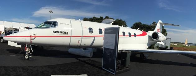 Bombardier Takes Go-slow Approach to Learjet 85 Program