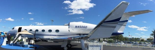 Charter a Gulfstream G450 through JetOptions