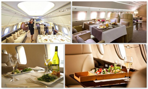 Private jet dining and catering is an important detail when chartering through JetOptions