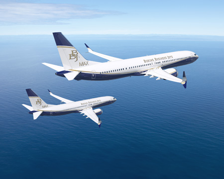 Boeing Business Jets, Comlux Announce Order for Two BBJ MAX 8s