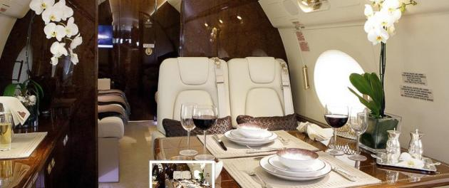Boutsen Design has won a contract to equip a brand new Gulfstream G650 with tableware and other accessories