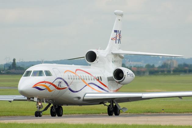 Dassault Falcon 7X aircraft