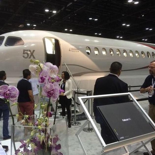 Dassault showcases 5X mock-up