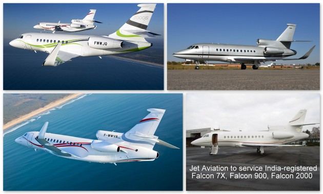 Jet Aviation Basel gains DGCA approval from India for Dassault Falcon 7X, Falcon 900 series and Falcon 2000