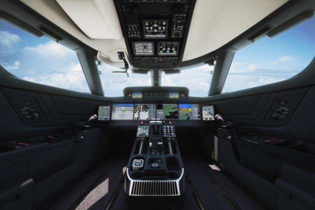 Moog Supplying Flight Control Systems For Gulfstream G500, G600