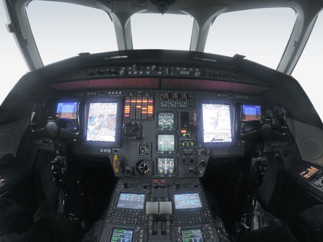 Pro Line 21 Upgrade on Falcon 2000