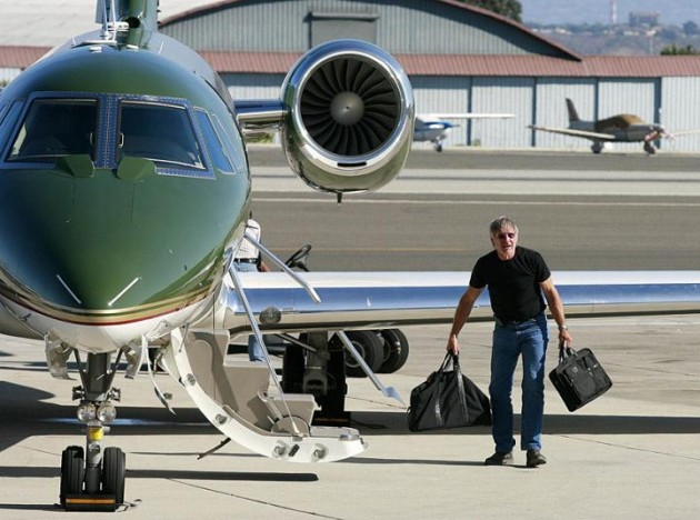 Citation CJ3 and Harrison Ford