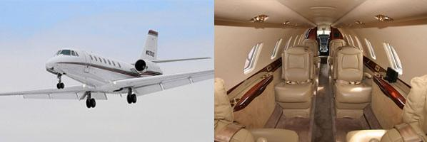 Citation Sovereign exterior and interior