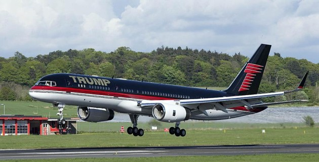 Donald Trump private jet