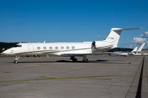 Heavy jet: Gulfstream G550