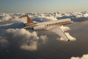 Bombardier Global 7000 ranked number three long range business jet