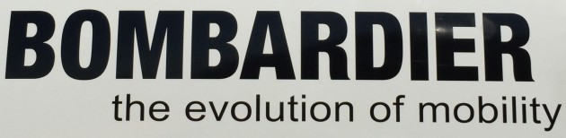 Bombardier evolution of mobility logo