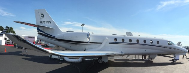 Citation Sovereign charter to Washington DC