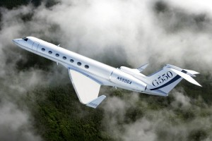 Gulfstream G550 ranked number five long range business jet