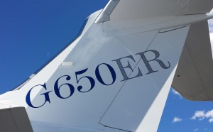 Gulfstream G650ER business jets