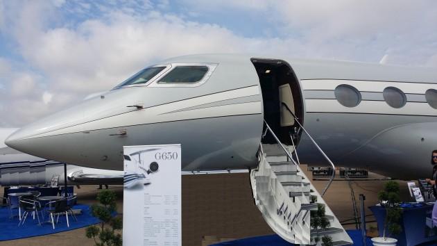 Gulfstream G650 wins Collier Award