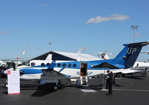 Wheels Up aircraft at NBAA 2014