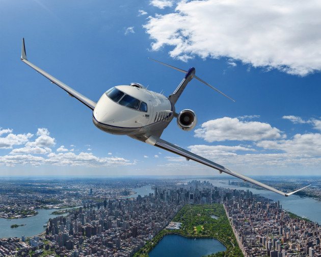 Challenger 350 will be on display at ABACE15