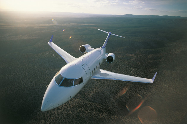 Bombardier Challenger 605 will be on display at ABACE15