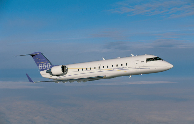 Bombardier Challenger 850 will be on display at ABACE15