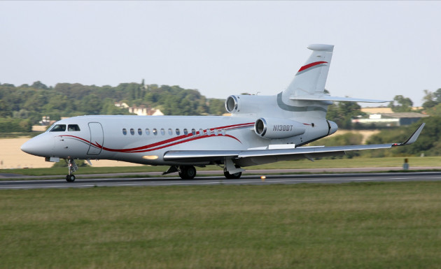 Dassault Falcon 7X is one of the top private jets in Asia