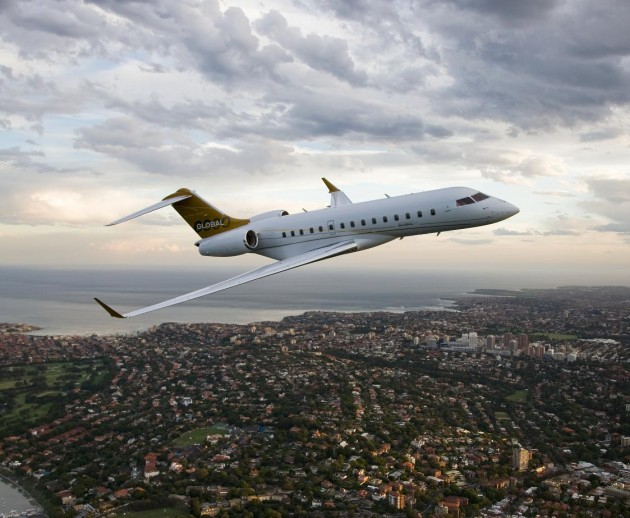 Bombardier Global 6000 will be on display at ABACE15
