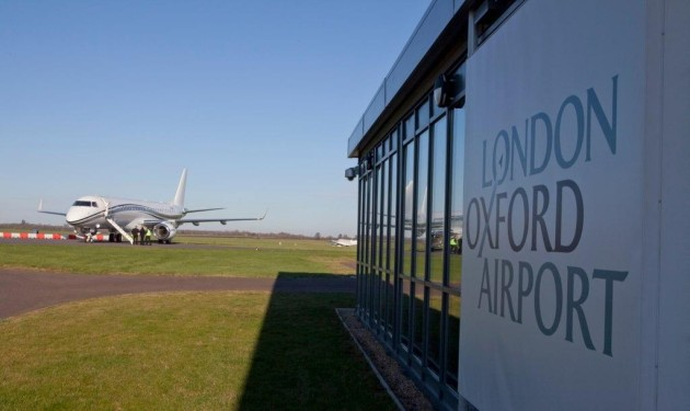 Private Charter Flights Up at London Oxford Airport