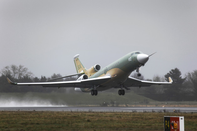 Second Falcon 8X joins Dassault test fleet