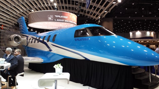 Pilatus PC-24 unveiled at European Business Aviation Expo 2014