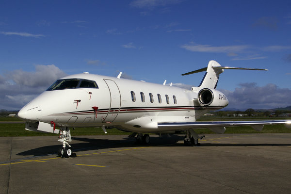 Bombardier Challenger 350 NetJets Europe