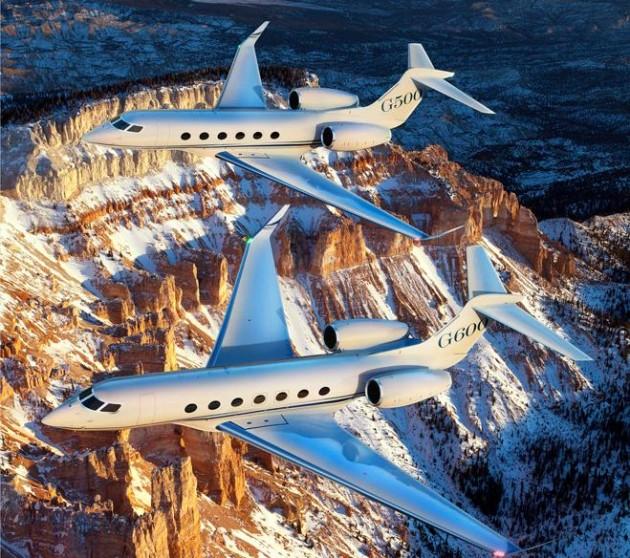 Gulfstream G600 and G500