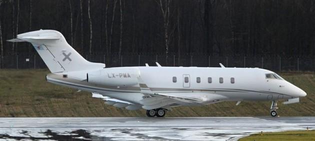 Luxaviation Challenger 300
