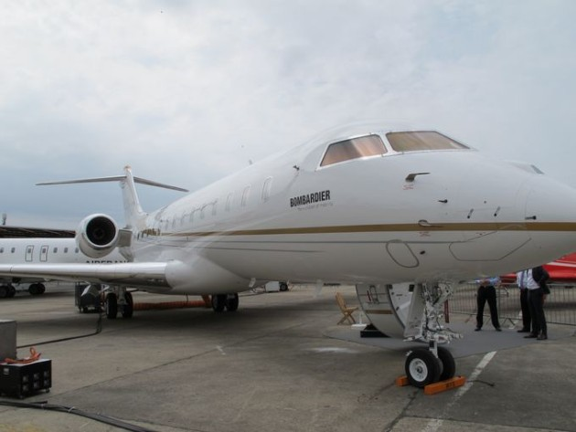 Bombardier Global 6000 Paris Air Show 2015 2