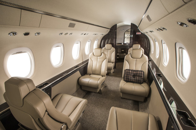 Cessna Citation Latitude cabin interior