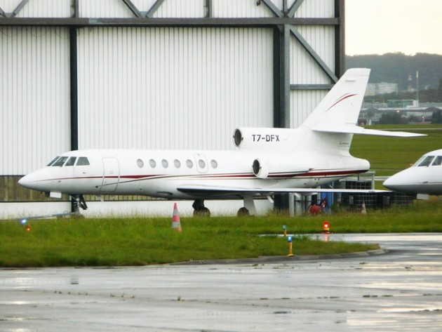 Falcon50_T7DFX at Le Bourget