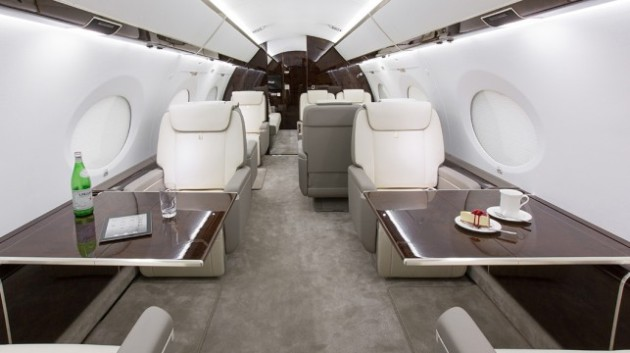 2012 build Gulfstream G650 up for sale