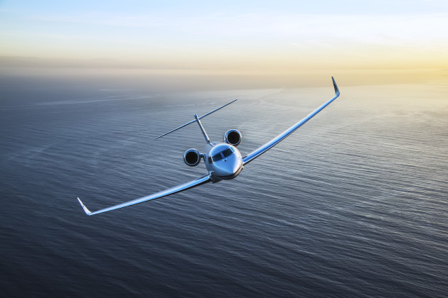 Gulfstream G650ER is at Paris Air Show